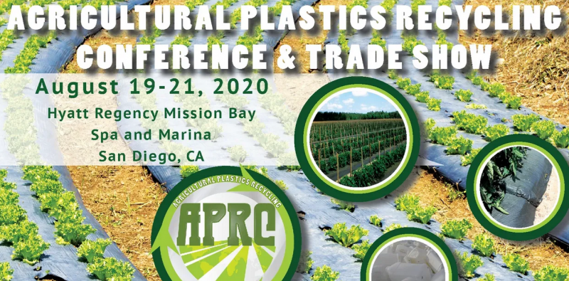 You are not going to want to miss APRC 2020 program.  We have the Elite of the industry on hand to talk about the forecast for ag plastics recycling and how it will impact you.