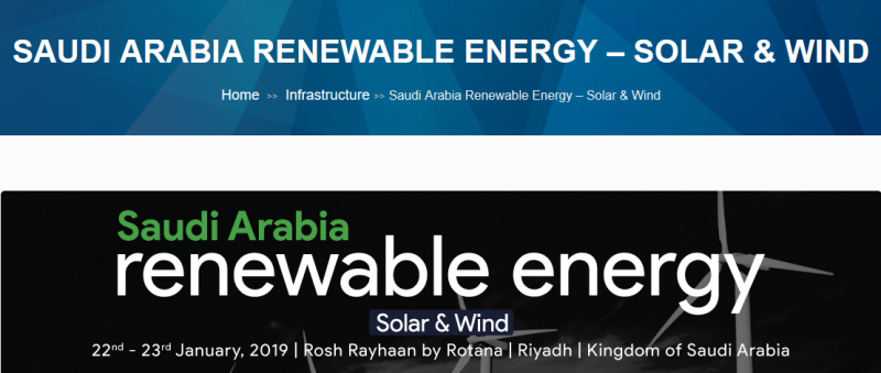 The Kingdom of Saudi Arabia, the world's biggest oil exporter, is expected to lead Renewable Energy Developments in the coming years with up to $7 billion worth, according to the International Renewable Energy Agency. The Kingdom of Saudi Arabia, which largely relies on oil to generate power, has set ambitious targets to add 9.5 GW of renewable energy by 2023, as it looks to sell more of its crude oil to export markets. As per the Vision 2030, the Ministry of Energy, Industry, and Mineral Resources (MEIM) are expected to tender 3.25GW of solar and 800 Megawatts of wind capacity this year alone. The Kingdom's inaugural 400MW wind project received global interest. It expects to commence $7 billion worth of renewable energy projects this year, with solar plants leading the way.