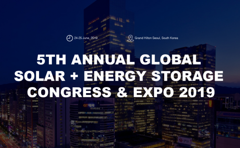 The Global Solar + Energy Storage Congress & Expo is built on the success of the 4th Global Solar + Energy Storage Congress & Expo 2018 held in Shanghai, China, the most influential global industrial gathering and award ceremony in the field of solar and energy storage. With 80+ speakers and 1000+ delegates from more than 50 countries, global market updates will be addressed within the 2 days, highlighting US, Europe, Australia, ASEAN and other emerging markets. South Korea is one of the most developed countries in Asia and is the eighth largest electricity consumer in the world. It has been making strong efforts to increase the renewable energy portion of its energy mix. The country is backed with a strong manufacturing industry (solar PV) as well as supportive policies.