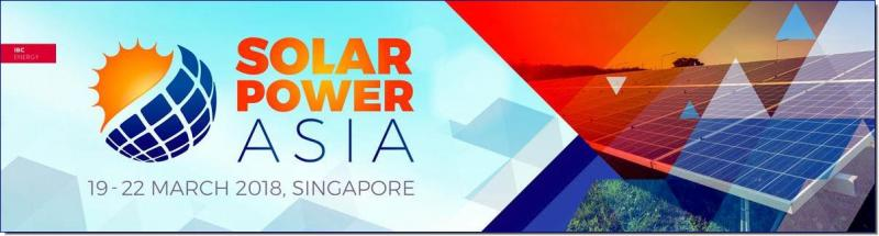 Asia's ONLY Solar Power event with a focus on regional markets comes to Singapore for the first time in 2018. Part of the Renewable Energy Week, the conference is part of a series of events designed to bring together Government, Project owners and developers, investors, technology and service providers from across the globe.