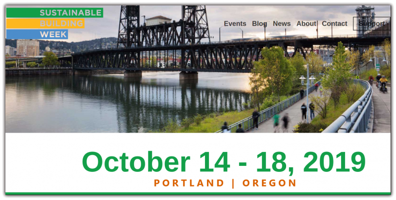 The week will bring the best and brightest building professional organizations together to educate, connect and foster opportunities for future collaboration to Keep Portland Green. Whether its combating climate change, protecting our natural resources or investigating the increasing number of dangerous chemicals in our indoor spaces, the multitude of issues that need to be addressed require more attention by all of us.