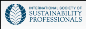 The International Society of Sustainability Professionals (ISSP) is the world's leading professional association of sustainability professionals. We work to make sustainability standard practice by empowering professionals to advance sustainability in organizations and communities around the globe. As a professional association, ISSP improves the skills of sustainability practitioners through education, knowledge sharing, research, and professional credentials.  ISSP is committeed to achieving this mission and vision through an integrated strategy with three pillars: empowering professionals, establishing the profession, and defining professional excellence, based on a foundation of creating and convening communities of sustainability professionals.