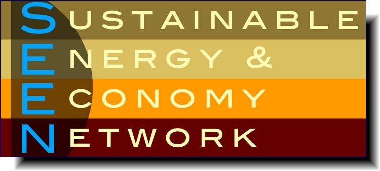 Sustainable Energy & Economy Network | works in partnership with people regionally, nationally, and globally with a focus on climate justice and, specifically, on ending the fossil fuel age and ushering in the age of clean energy and a sustainable economy for generations to come