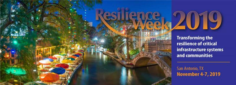 Resilience Week 2019 Symposium  Large disasters may ripple across cities, regions or even nationally through interconnected critical infrastructure systems.  Right now, many of those connections are invisible, making it very difficult to put effective mitigation strategies in place. Critical links are often uncovered too late, causing greater impacts to infrastructure and challenging recovery efforts on the ground.  Join us for the Resilience Week 2019 Symposium to discuss how private and public partners can work together to ensure a secure and reliable flow of energy across the nation.