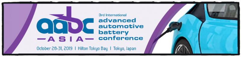 We are excited to return to Japan in 2019 with an event that promises to build on the success of our US and European events, while focusing on the unique drivers, needs, and challenges of the diverse Asian market. With sessions spanning research and development findings in novel battery chemistries and new approaches to cell and pack engineering, as well as applied technologies in the next generation of electric and hybrid vehicles, AABC Asia is an invaluable opportunity to discover the latest trends, technology and market information. If you would like to be considered for a podium presentation, please submit a speaker proposal by April 26.