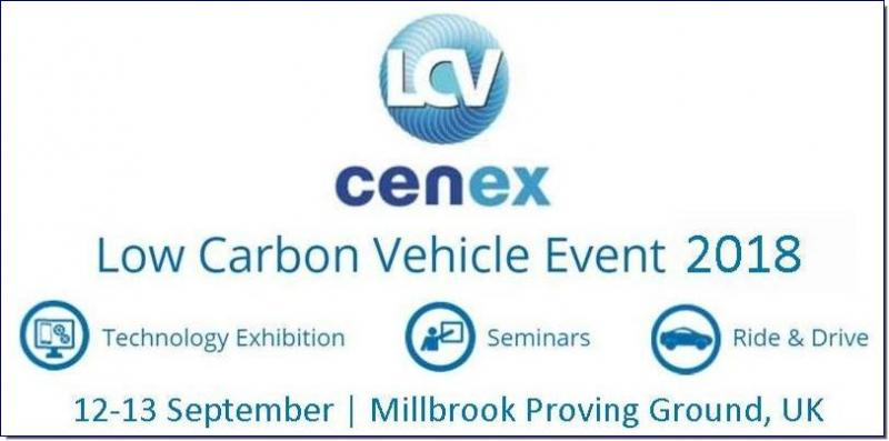 Cenex-LCV is the UK's premier low carbon vehicle event incorporating four keys features: The UKs Premier Low Carbon Vehicle Event; Technology exhibition split over three halls; Extensive seminar programme; Facilitated networking with the low carbon community; Ride & drive of the latest research & development and commercially available vehicles.