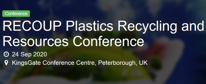 Recoup Plastics Recycling Conference is a great opportunity to hear updates from key industry leaders and able to network with the whole plastics recycling chain.
