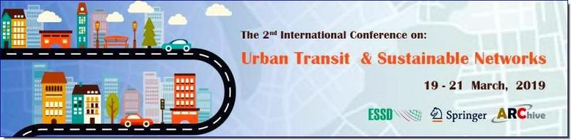 UTSN 2nd Edition is about the importance of urban transit and networking system and how can it affect the environment either positively or adversely. This conference will be aimed to solve and provide technical solutions that will help the non-Eco-friendly cities to change into eco-friendly ones.  Transportation is defined as a vehicle which moves people or tools to another place. The issue is how to be environment-friendly while using them.  The use of technology, public awareness, infrastructures, the correct road planning and government rules are topics which will be discussed in this conference as well as the new modeling and planning tools, which are used to design roads.