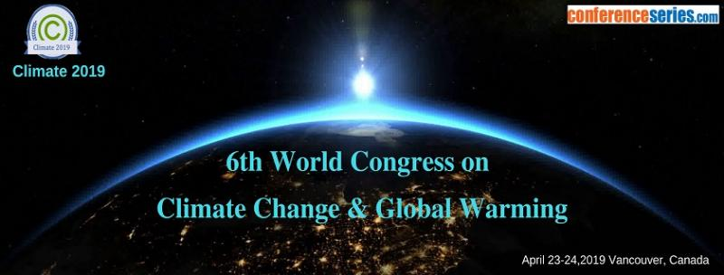"Climate 2019 is based on the theme:  ""Adaptation to Climate Change'' and the conference mainly focus on the Climate change and its effects. Study of Climate change is important in today's world if we want to leave this planet for our future generations. We have to really understand the challenges and together we have to make a pledge for a sustainable environment."