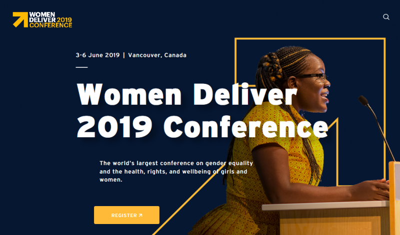 The Women Deliver 2019 Conference will be the world's largest conference on gender equality and the health, rights, and wellbeing of girls and women.  From keynotes to social enterprise pitches, workshops to film festivals, there will be countless opportunities to engage, gather inspiration, and build a more gender equal world.