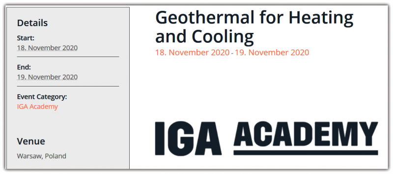 Today the IGA is the world's largest and unique International Geothermal Association that promotes and contributes to the geothermal development worldwide. For more than 30 years, we've been serving Global Geothermal Community and encouraging the use of geothermal energy throughout the world.