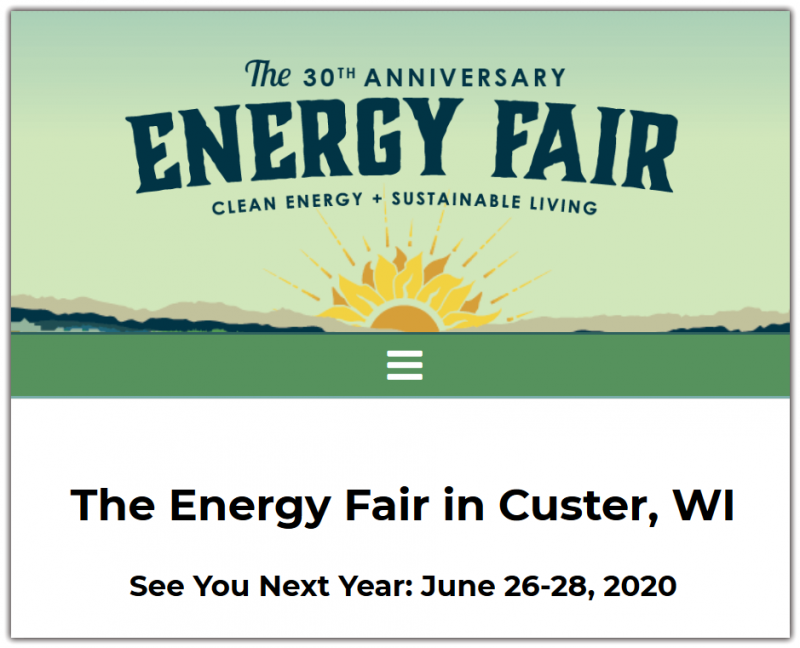 The Energy Fair is rooted in education, which we believe is the driving force that makes positive change possible. Learn from industry experts by attending workshops, and perusing the many exhibits on display during the Fair. General workshops and exhibits are free with the price of admission. Staff & Volunteers Tickets & Volunteering  In an effort to bring clean energy and sustainable living education to the largest audience possible, we work really hard to keep admission prices low. Volunteers, MREA Members, and kids 12 and under receive free admission! Our online ticket sales are closed. All tickets will be available at the Front Gate and special event tickets will be available at the MREA Marketplace during the Fair.