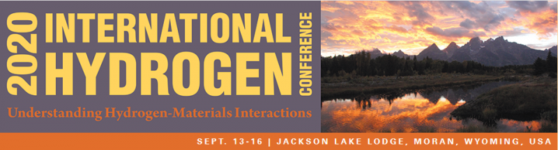 Previous conferences in this series were held in 1973, 1975, 1980, 1989, 1994, 2002, 2008, 2012, 2016 with the venue for the last seven conferences being Jackson Lake Lodge. These conferences have been the premier topical meetings on hydrogen effects in materials, as demonstrated by past attendance and extensive citations of the conference proceedings in technical literature. The continuation of this conference series is quite timely, since interest in developing hydrogen as a fuel is drawing more attention to hydrogen-materials interactions.  The 2020 International Hydrogen Conference will continue the trend of past meetings, where hydrogen effects on mechanical properties of materials is a primary topic.