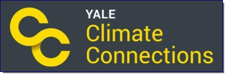 "Yale Climate Connections aims to help citizens and institutions understand how the changing climate is already affecting our lives. It seeks to help individuals, corporations, media, non-governmental organizations, government agencies, academics, artists, and more learn from each other about constructive ""solutions"" so many are undertaking to reduce climate-related risks and wasteful energy practices.  Through articles, radio stories, videos, and webinars we ""connect the dots"" between climate change and energy, extreme weather, public health, food and water, jobs and the economy, national security, the creative arts, and religious and moral values, among other themes."